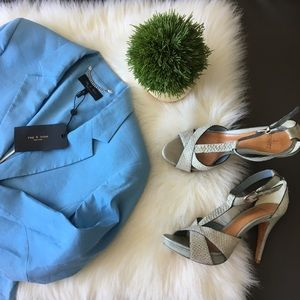 🦚 Schutz ♡ Watersnake Platform Sandal ♡ Baby Blue